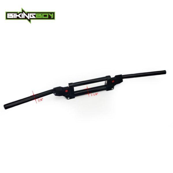 """BIKINGBOY 28mm 1 1/8"""" 22mm 7/8"""" Bar Anti Vibration Handlebars ATV Quad Dirt Adjustable For Polaris Suzuki Kawasaki Honda Yamaha 2"""