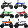 Genuine New Children 24V 500W Mini QUAD Bike ATV Mini Buggy Outdoor Kids 4 Wheeler Bike White