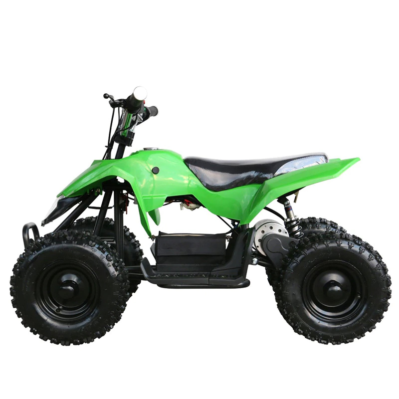 Kids ATV Green Left Side