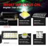 Quad Row Straight LED Light Bar for ATV 4