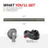 Quad Row Straight LED Light Bar for ATV 8